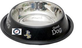 Pethub Quality And Stylish Dog Food Bowl-600 ML -Black