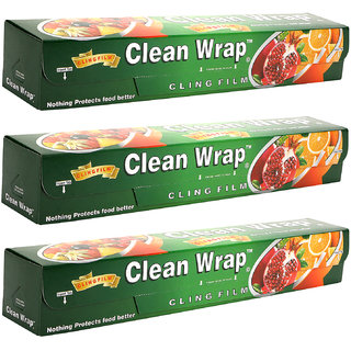 how to get plastic wrap to stick