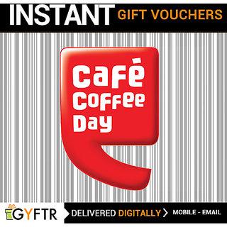 Cafe Coffee Day GyFTR Insta Gift Voucher INR 500
