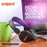 Envent Premium Foldable wired Headphone-Beatz 501
