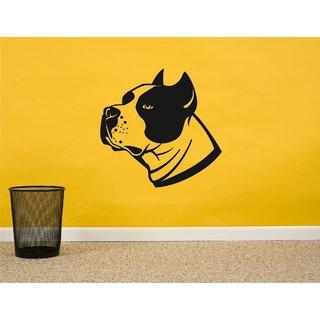 Dog BreedRottweiler Black Wall Sticker