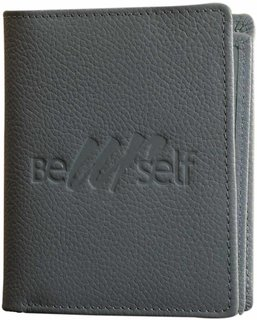 Compact pure leather wallet eZeeBags - BY015v1 - Coin pocket, 6 card slots, double notes section  more in a compact format.