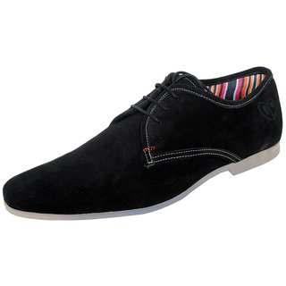 Delize Men's Black Casual Shoes