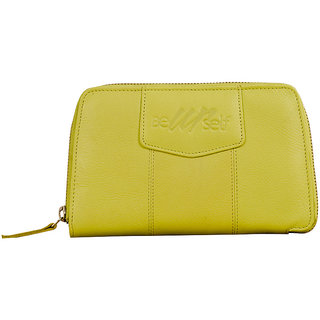 Beautiful ladies zip-around clutch purse. BeYourself collection by eZeeBags - Style No BY010v1.