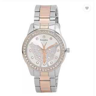b8230471b813 Buy Sooms Ladies Designer wear watch Best Gift for her! (MJ07082016036)  Online - Get 73% Off