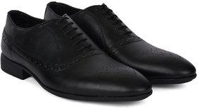 Ziraffe VLAD Black Men'S Leather Formal Shoes