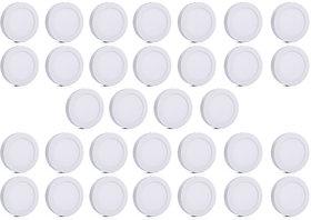 Bene LED 12w Round Surface Panel Ceiling Light, Color of LED White (Pack of 32 Pcs)