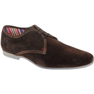 Delize Men's Brown Casual Shoes