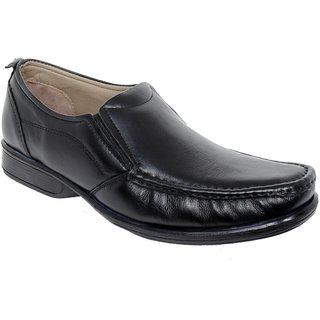 Delize Trendy Mens Black Formal Shoes