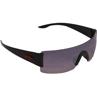 9c3b5cfb16 Wrap Around Black Sun Glasses With Uv Protection In India