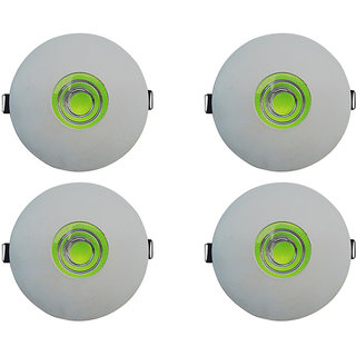 Bene LED 7w Glow Round Ceiling Light, Color of LED Green (Pack of 4 Pcs)