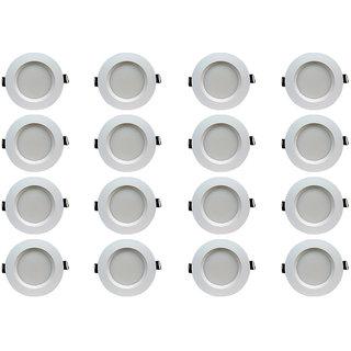 Bene LED 5w Faro Round Ceiling Light, Color of LED White (Pack of 16 Pcs)