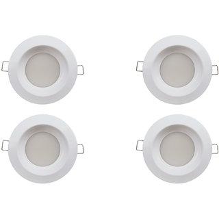 Bene LED 6w Leggero Round Ceiling Light, Color of LED Warm White (Yellow) (Pack of 4 Pcs)