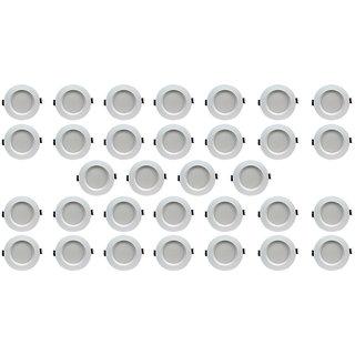 Bene LED 5w Faro Round Ceiling Light, Color of LED Green (Pack of 32 Pcs)