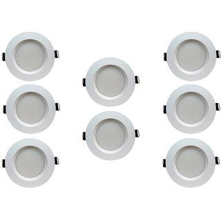 Bene LED 5w Faro Round Ceiling Light, Color of LED Green (Pack of 8 Pcs)