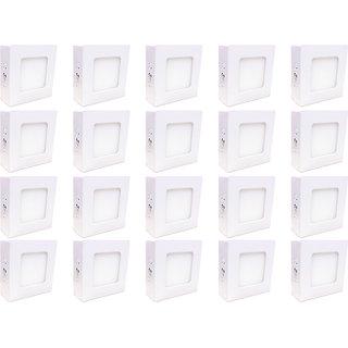 Bene LED 3w Square Surface Panel Ceiling Light, Color of LED White (Pack of 20 Pcs)