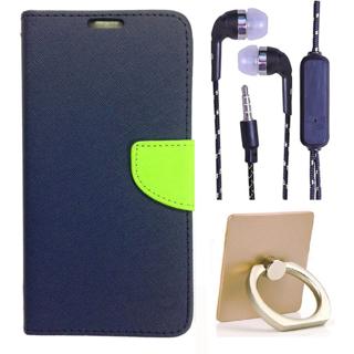 Micromax Unite 3 Q372  Credit Card Slots Mercury Diary Wallet Flip Cover Case