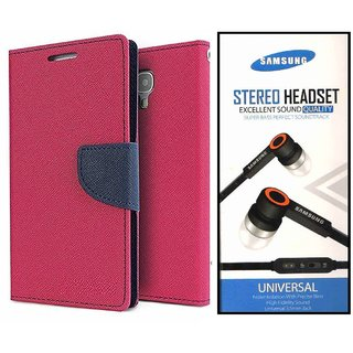 Lenovo A1000  Credit Card Slots Mercury Diary Wallet Flip Cover Case