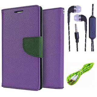 Micromax Bolt Q324  Credit Card Slots Mercury Diary Wallet Flip Cover Case