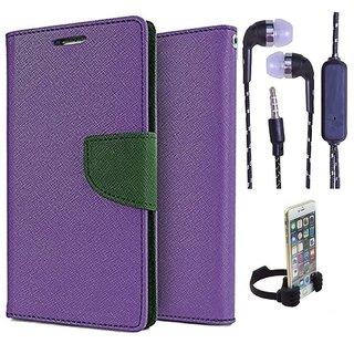 Sony Xperia ZR M36H  Credit Card Slots Mercury Diary Wallet Flip Cover Case