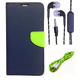 Micromax Canvas Selfie Lens Q345  Credit Card Slots Mercury Diary Wallet Flip Cover Case