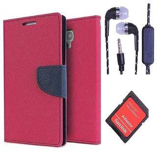 Reliance Lyf Wind 1  Credit Card Slots Mercury Diary Wallet Flip Cover Case