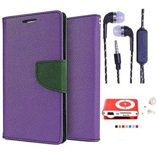 Sony Xperia E3  Credit Card Slots Mercury Diary Wallet Flip Cover Case