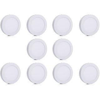 Bene LED 18w Round Surface Panel Ceiling Light, Color of LED White (Pack of 10 Pcs)