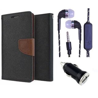Micromax Canvas Sliver 5 Q450  Credit Card Slots Mercury Diary Wallet Flip Cover Case