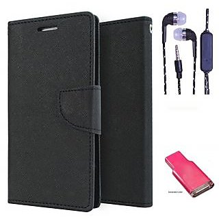 Samsung Galaxy Grand Max G7200  Credit Card Slots Mercury Diary Wallet Flip Cover Case