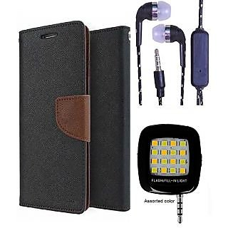 Micromax Yu Yureka/Yureka PLUS AQ5510  Credit Card Slots Mercury Diary Wallet Flip Cover Case