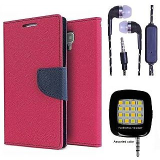 InFocus M2  Credit Card Slots Mercury Diary Wallet Flip Cover Case