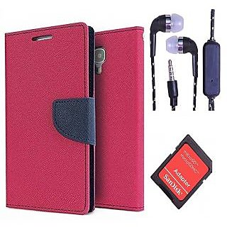 HTC Desire 616  Credit Card Slots Mercury Diary Wallet Flip Cover Case