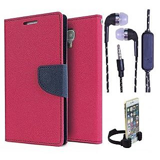 HTC One E8  Credit Card Slots Mercury Diary Wallet Flip Cover Case