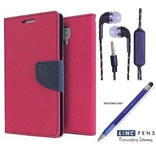 Lenovo Vibe P1  Credit Card Slots Mercury Diary Wallet Flip Cover Case