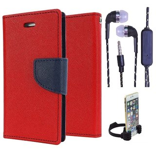 Micromax Canvas Knight A350  Credit Card Slots Mercury Diary Wallet Flip Cover Case