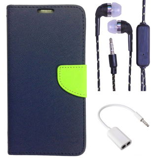 Sony Xperia M4 Aqua Dual  Credit Card Slots Mercury Diary Wallet Flip Cover Case