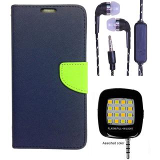 Lenovo A1000  Credit Card Slots Mercury Diary Wallet Flip Cover Case