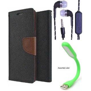 Micromax Canvas Spark 2 Q334  Credit Card Slots Mercury Diary Wallet Flip Cover Case