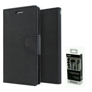 Micromax Canvas Fire A093  NEW FANCY DIARY FLIP CASE BACK COVER