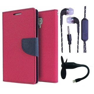 Reliance Lyf Wind 6  Credit Card Slots Mercury Diary Wallet Flip Cover Case