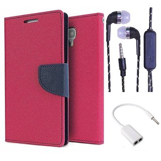 Micromax Yu Yureka/Yureka PLUS AQ5510  NEW FANCY DIARY FLIP CASE BACK COVER