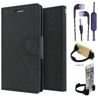 Micromax Canvas Pep Q371  NEW FANCY DIARY FLIP CASE BACK COVER