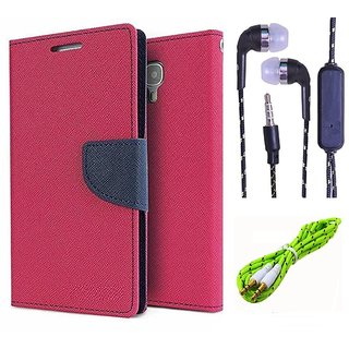 Micromax Bolt D321   NEW FANCY DIARY FLIP CASE BACK COVER