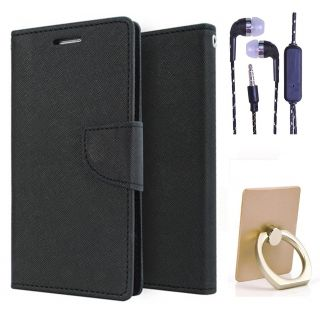 Sony Xperia C3  NEW FANCY DIARY FLIP CASE BACK COVER