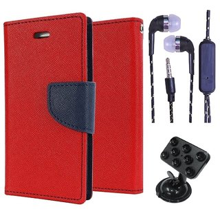 Micromax Canvas 2.2 A114  NEW FANCY DIARY FLIP CASE BACK COVER