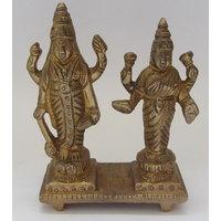 Laxmiji Narayan God Brass Statue,Religious God Idol For Pooja,Puja Mandir Statue