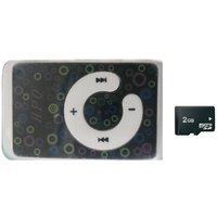 MP3 Player WIth Earphone & Charger Cable With Free 2GB Micro SD Memory Card.