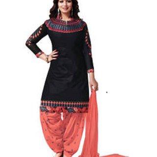 Punjabi Suits colour BLACK
