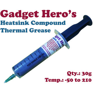 Gadget Hero's 30g Thermal Grease Paste Heat Sink Compound for CPU  Chipsets.